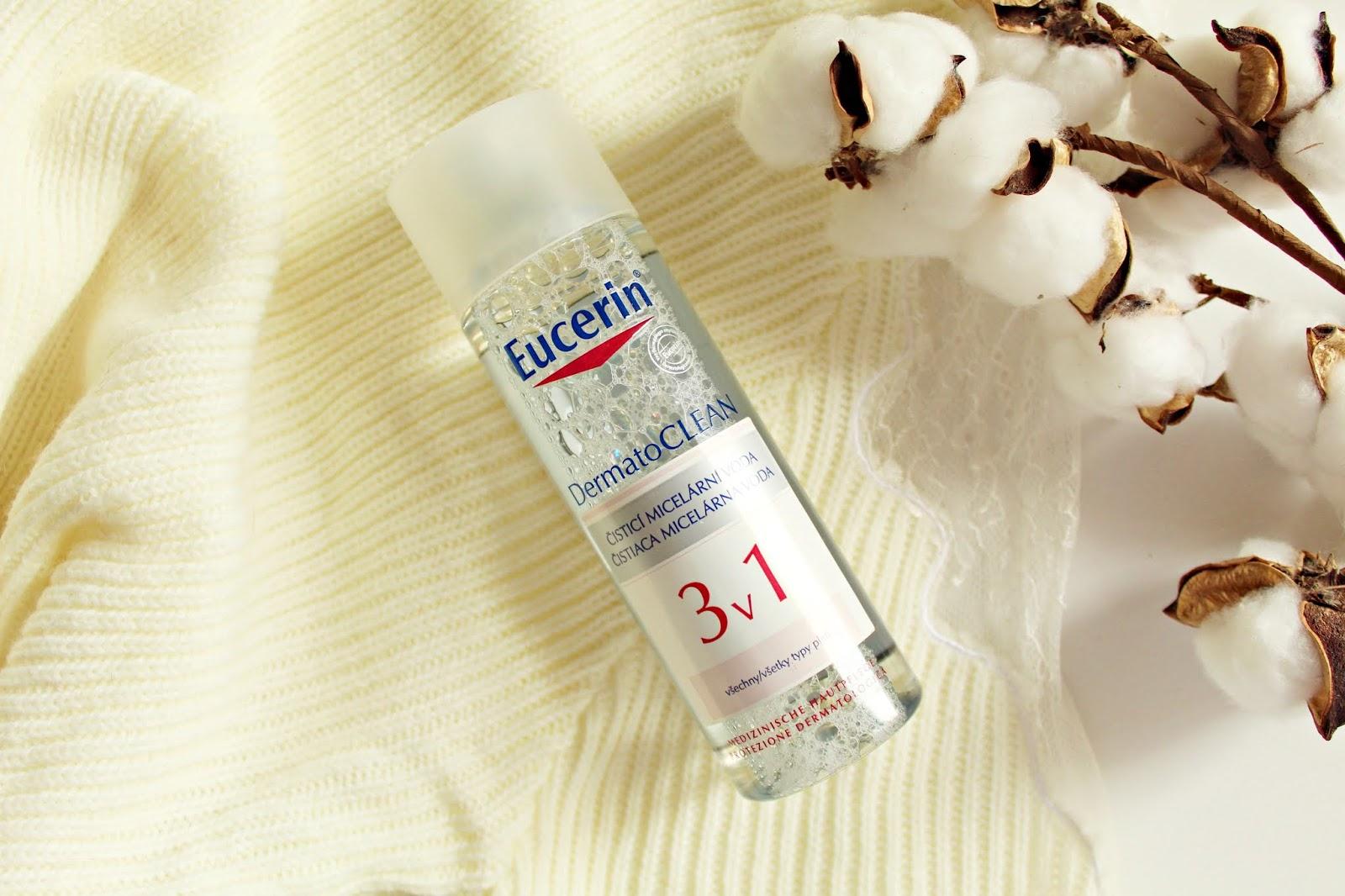 EUCERIN DermatoClean oczyszczający płyn micelarny 3 w 1