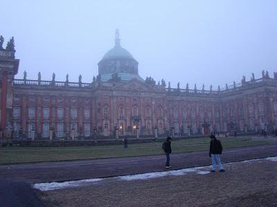 Palácio em Postdam, próximo a Berlim, Alemanha