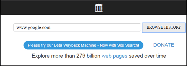 Webback machine