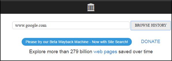Webback machine