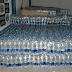 Polícia Civil encontrou muitas garrafinhas de água em casa abandonada