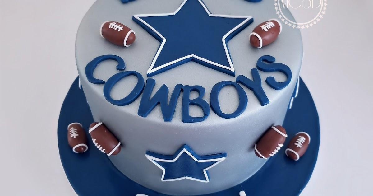 Cakesbyzana Dallas Cowboys Cake