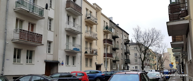Warszawa Warsaw Mokotów ulice Mokotowa architektura miasto
