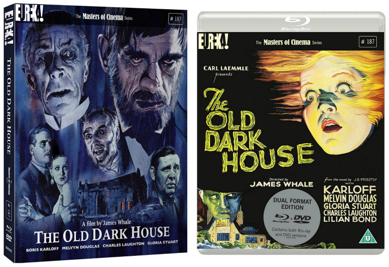 THE OLD DARK HOUSE dvd