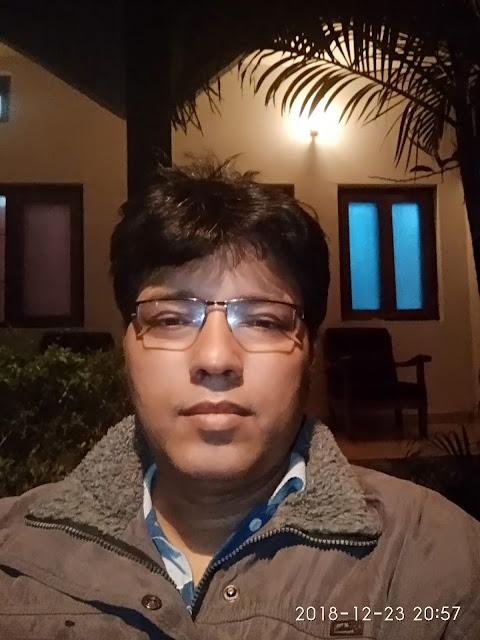 Siddhartha Bhattacharyya Inside Narmada Resort, Bandhavgarh
