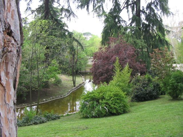 Jardins do Retiro em Madri