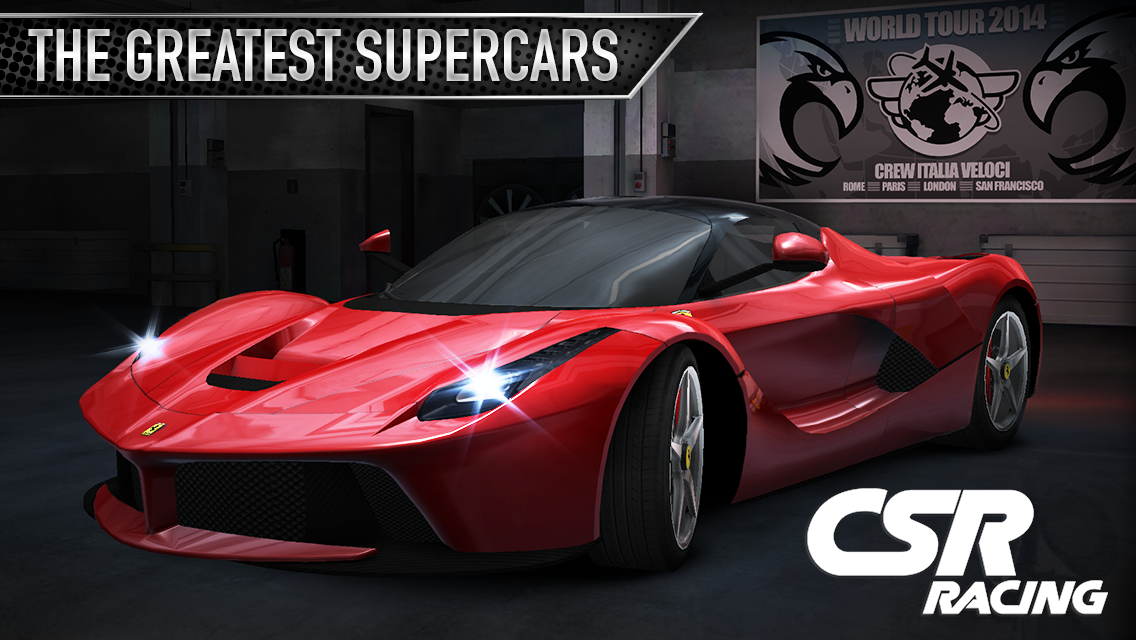 CSR Racing MOD ( Unlimited Money ) APK + Data For Android