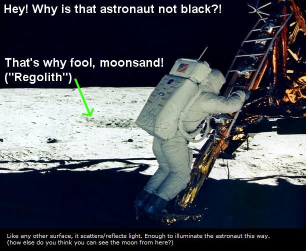 hoax moon landing footprint - photo #29