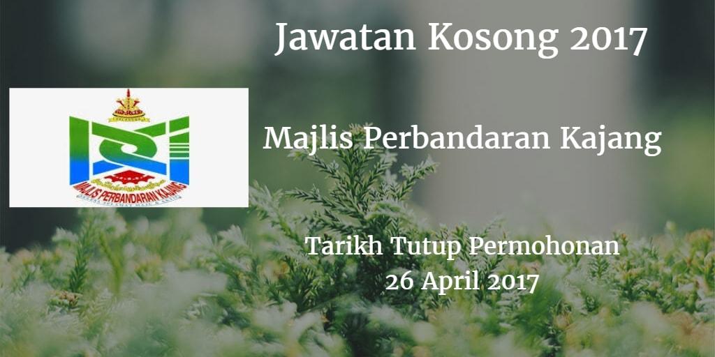 Jawatan Kosong MPKJ 26 April 2017