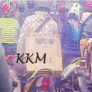 Kurir kota Medan.