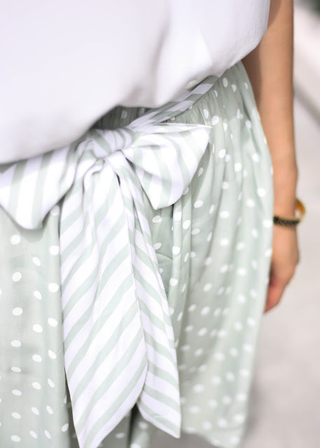 Vintage Polka Dot Shorts with Bowtie