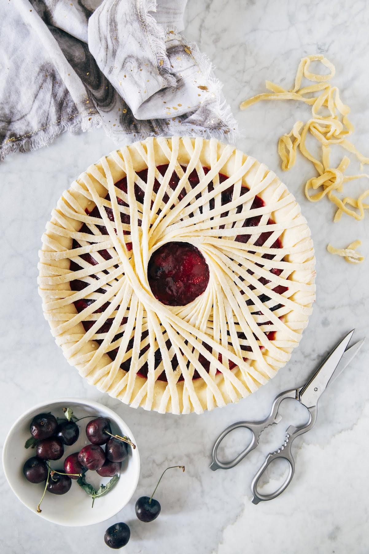 cherry lambic spoke pie