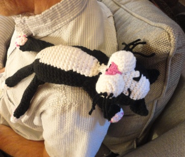 Laid Back Cat Amigurumi : Crochet Parfait: June 2016