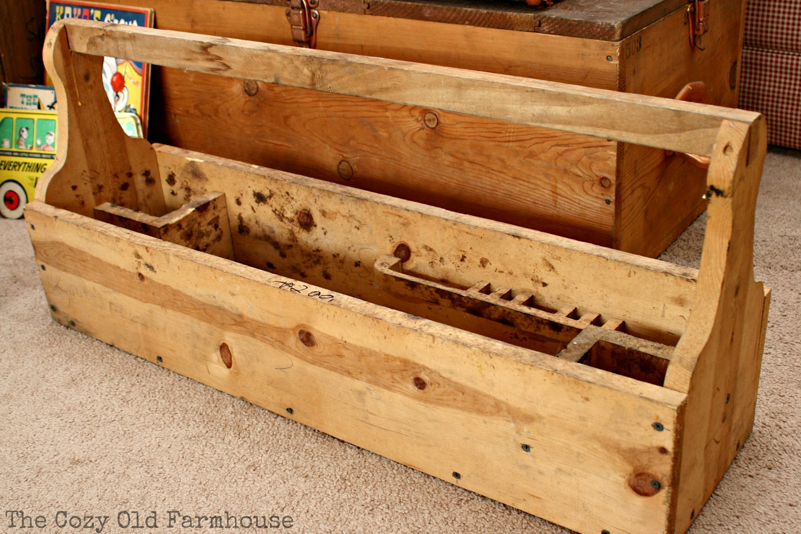 Wood Tool Box with Drawer Plans | MyOutdoorPlans | Free ... |Tool Box Woodworking Plans