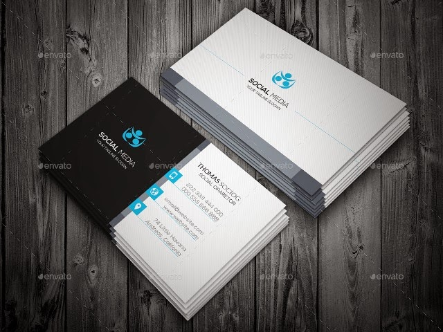 Simply Social Media Business Card