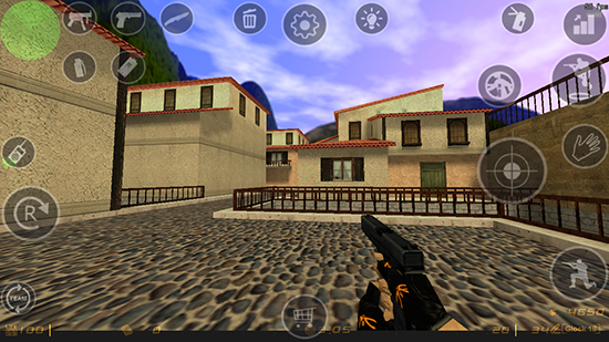 Counter Strike v1.6 Apk + Data Terbaru
