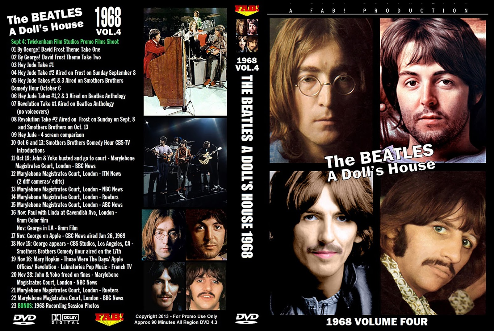 The Beatles – A Doll's House 1968 Vol.04 DVD