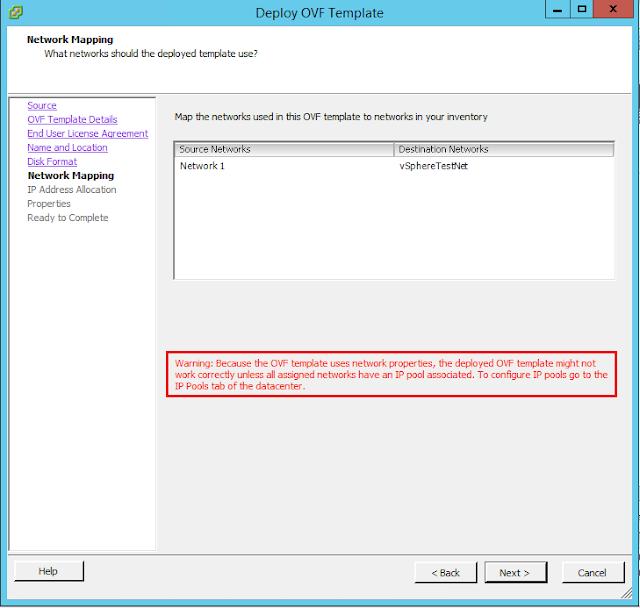 vCenter Server 6.5 : OVF Deployment Error - :VALUE_ILLEGAL: Value ...