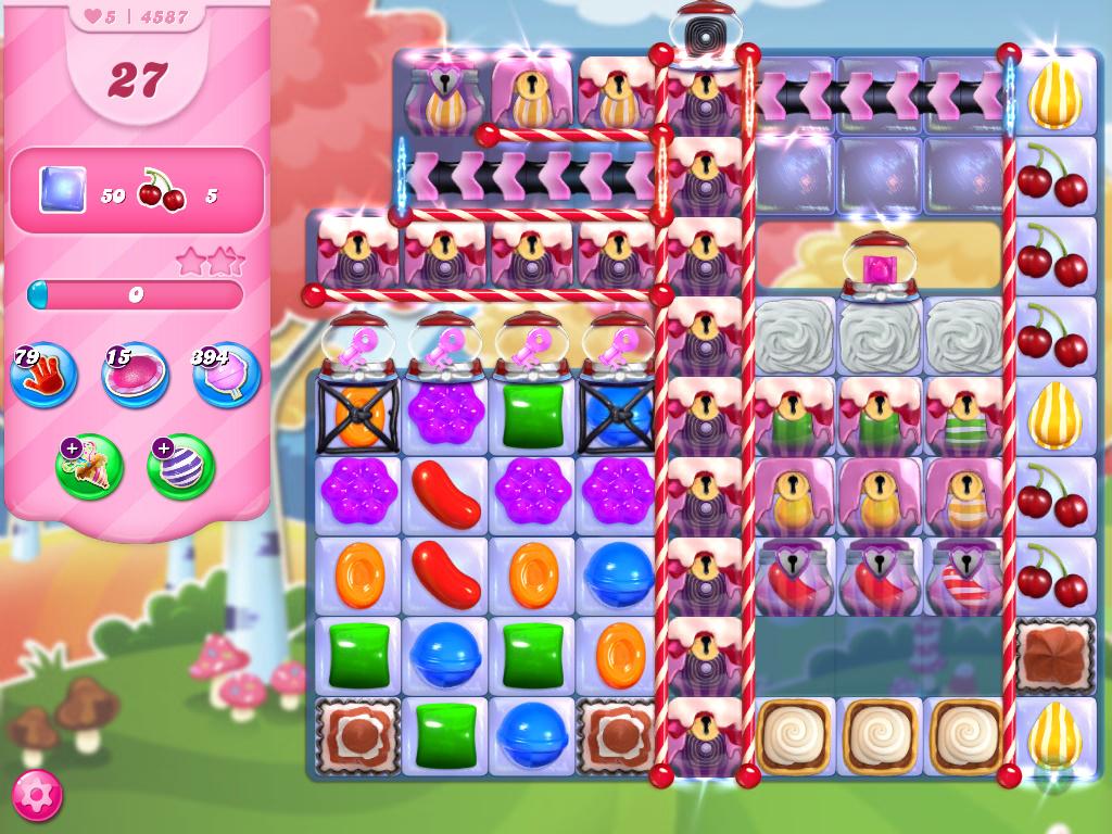 Candy Crush Saga level 4587