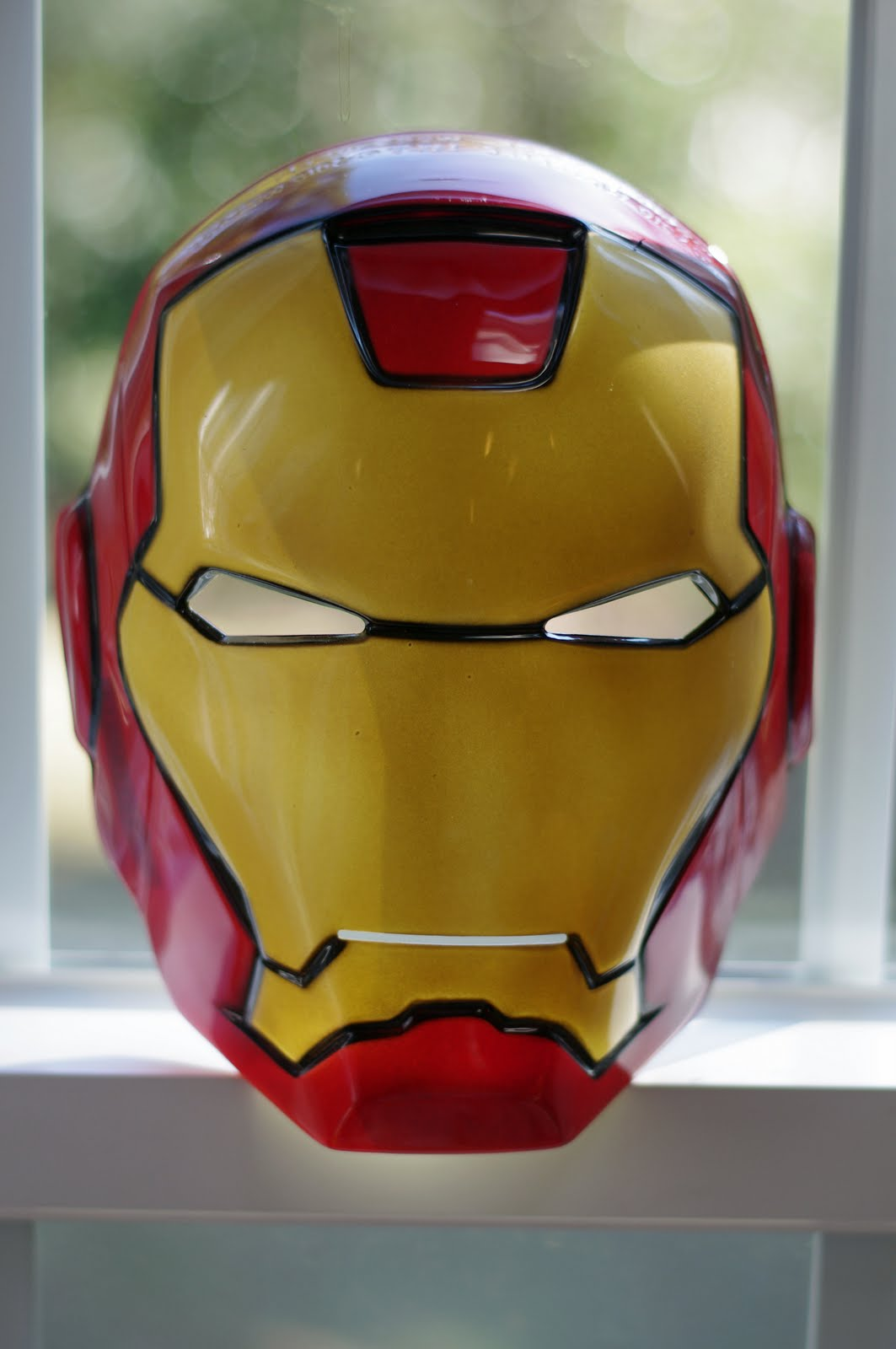 iron man face mask template - 1063px