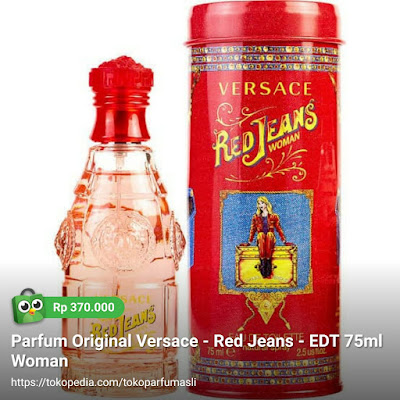 versace red jeans edt 75ml woman