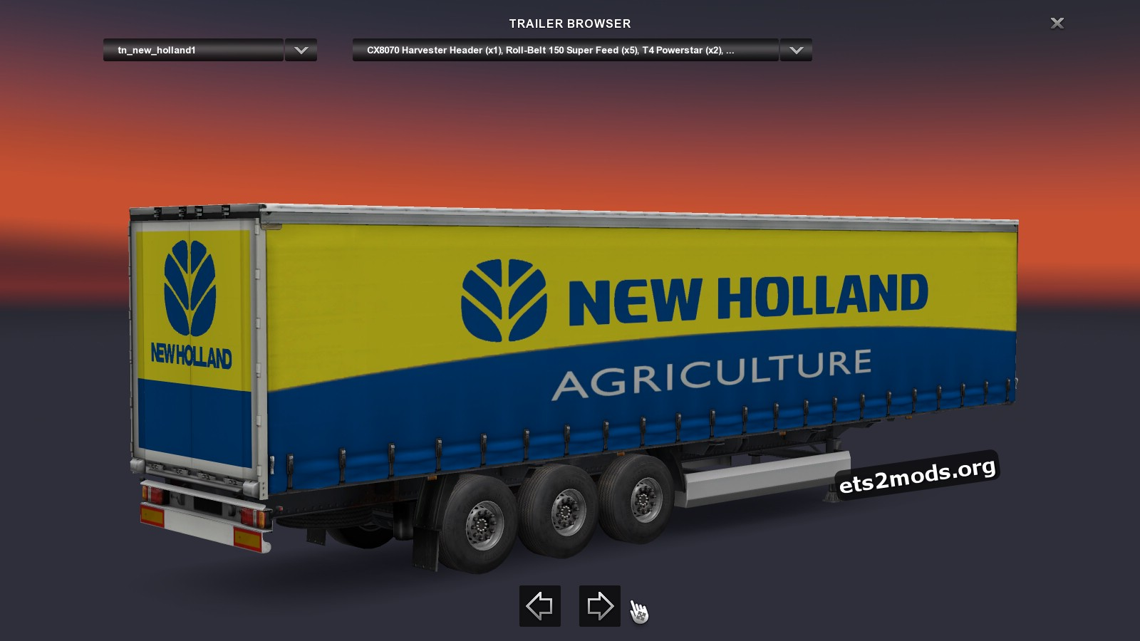 Combo Pack New Holland