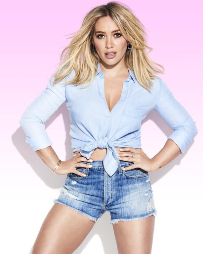 Hilary Duff beauty model Cosmopolitan magazine photo shoot