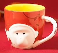 Source: Starbucks. Monkey mug.