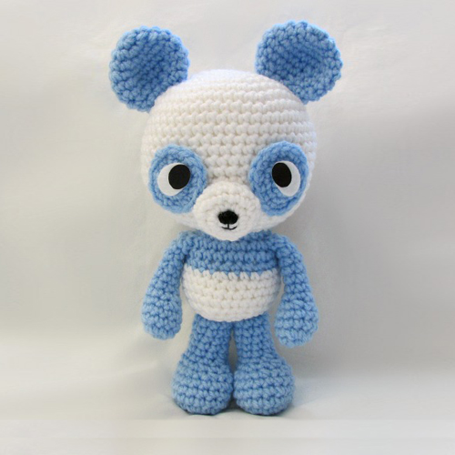 Panda Amigurumi Free Pattern