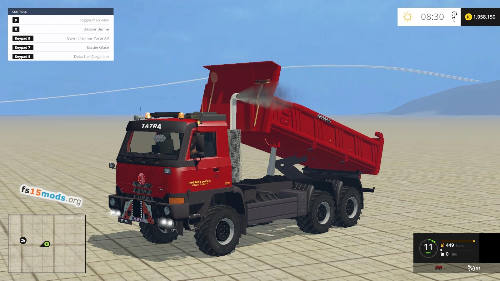 Tatra Terno Benne - Dump Truck