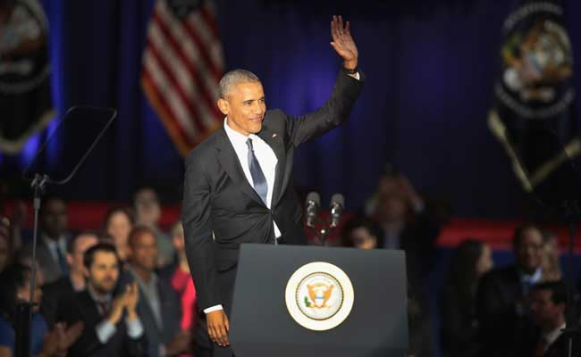 Obama delivers emotional farewell speech to America: Read full speech