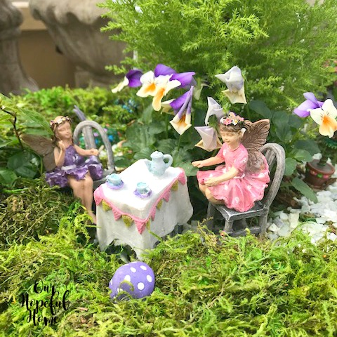 fairies garden tea party