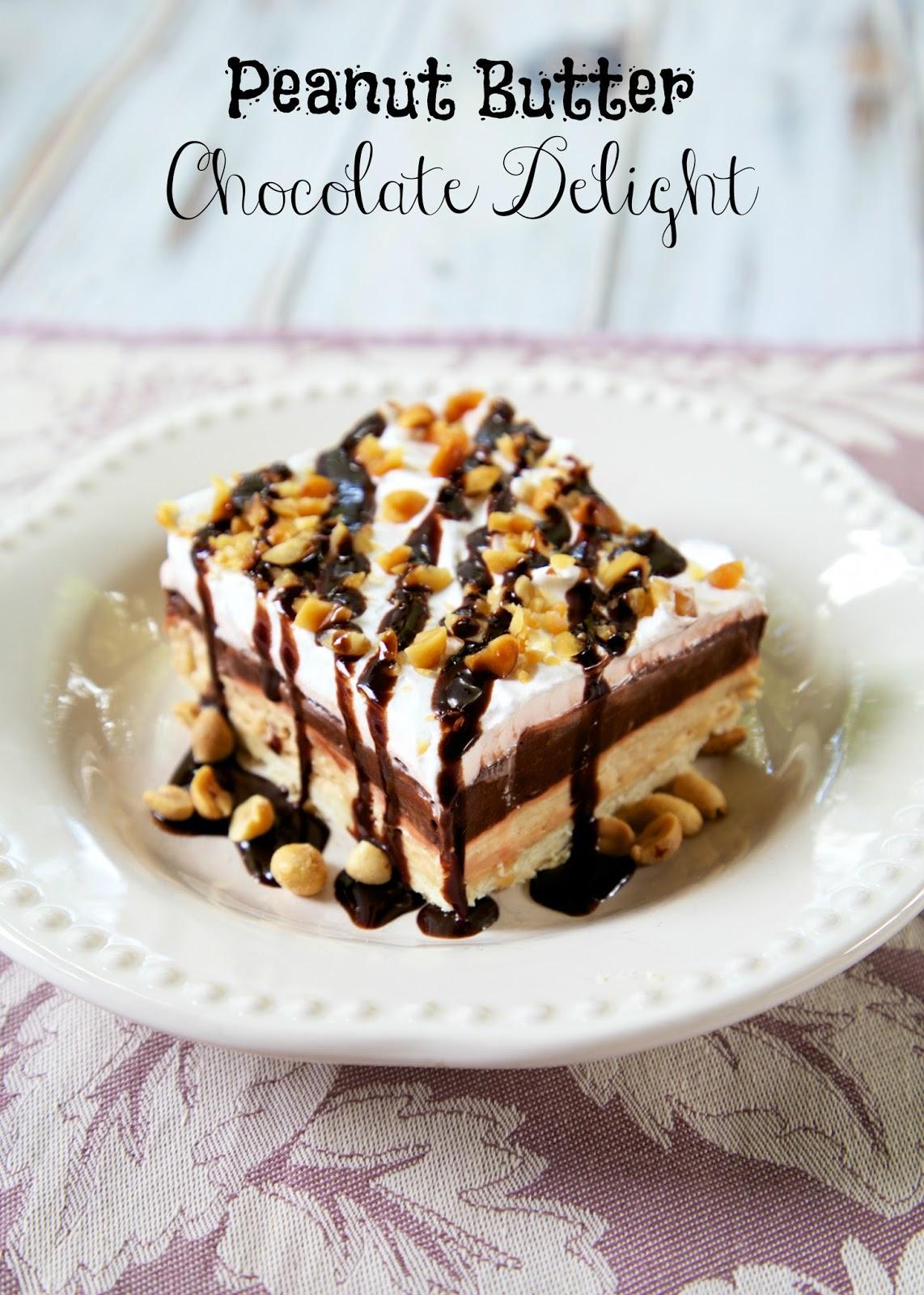 peanut butter chocolate delight dessert