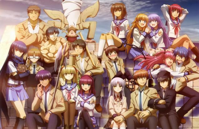 Angel Beats - Daftar Anime Mirip Charlotte