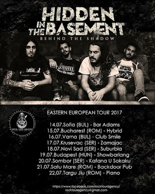 Hidden In the Basement tour 2017