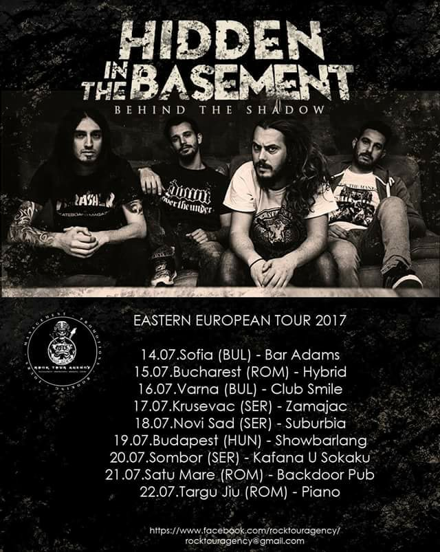 [News] Hidden In the Basement tour 2017