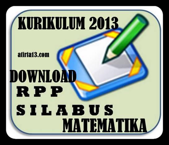 Download RPP Silabus Matematika Jenjang SMA Kurikulum 2013