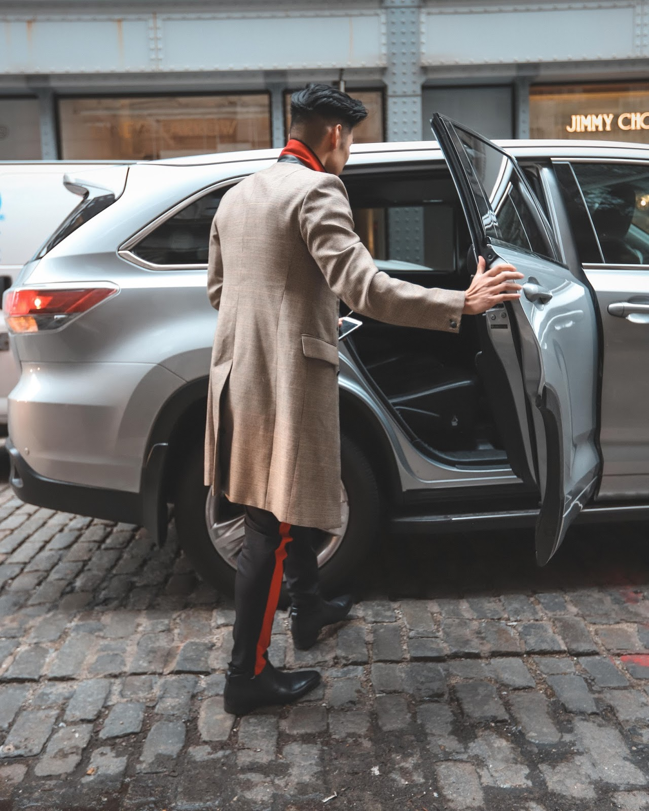 Getting Around NYFW with Uber