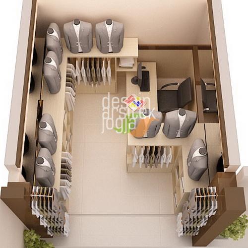 Tinuku Desain Arsitek Jogja designing mini boutiques with minimal and modern