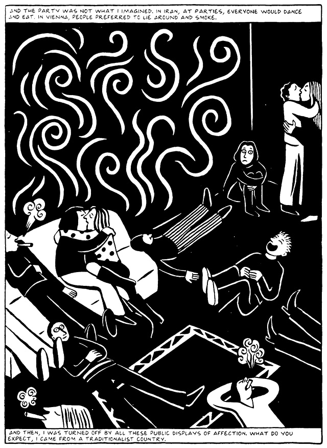 Read Chapter 4 - The Pill, page 31, from Marjane Satrapi's Persepolis 2 - The Story of a Return