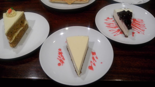 Dome's Cakes- Carrot cake, New York cheesecake, Blueberry cheesecake, food blogger philippines,