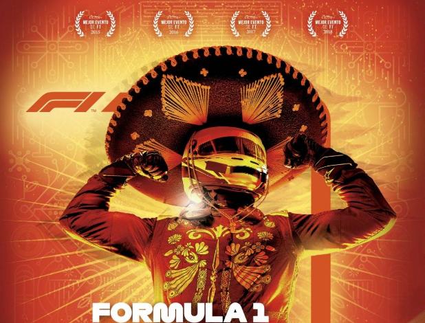 Un mariachi, imagen oficial del GP de México 2019