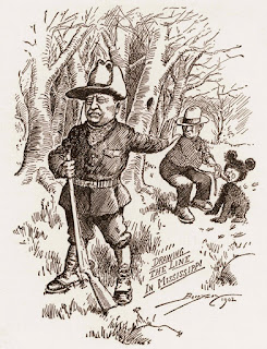 Theodore Roosevelt and the bear