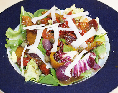 Marinated Pepper and Onion Salad