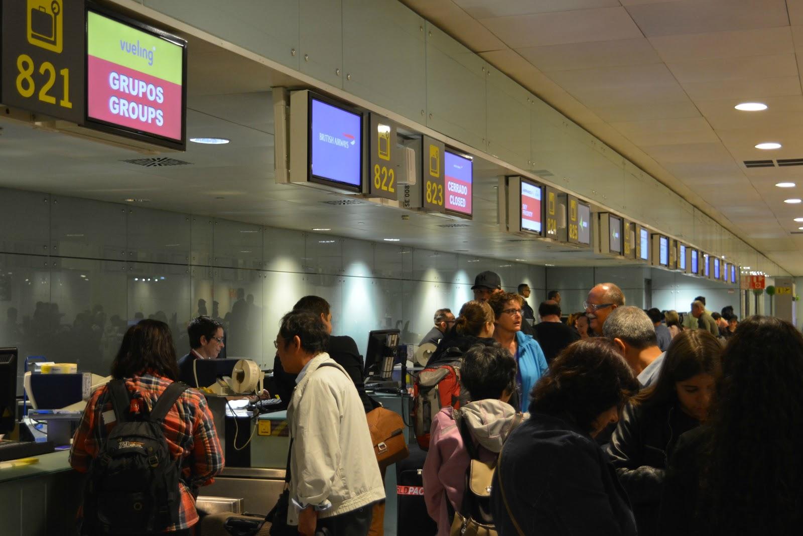 El Prat al Día: Se reanuda la operativa de facturación de pasajeros ...