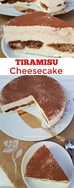 Most decadent ! The creamiest No-Bake Tiramisu Cheesecake ever and requires the minimum prepping !