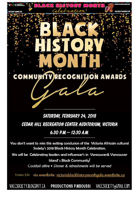 Black History Month Community Recognition & Closing Gala