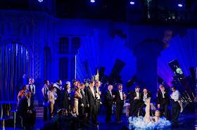 Didi Derriere & chorus - Die Fledermaus - Opera Holland Park. Photo Robert Workman.