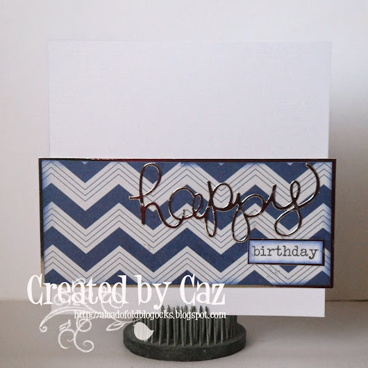 Cute Card Thursday Challenge - Bonny Blues!