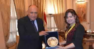 """بالفيديو: """"رانيا صابر"""" بطلة العالم فى الكيك بوكسينج ابنة وزارة الخارجية المصرية"""